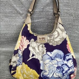 COACH-Discontinued Madison Multi-Color Navy & Flor